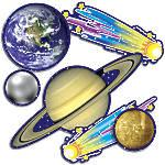 Scholastic Bulletin Board Accents Solar System