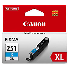 Canon CLI 251XL High Yield Cyan