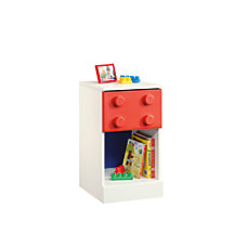 Sauder Primary Toy Block Furniture Nightstand