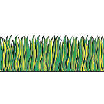 Scholastic Bulletin Board Accents Grass 9