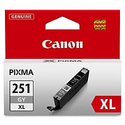 Canon CLI 251XL High Yield Gray