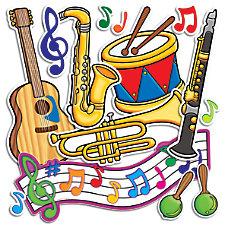 Scholastic Bulletin Board Accents Music 9
