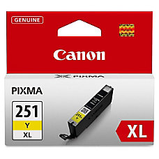 Canon CLI 251XL High Yield Yellow