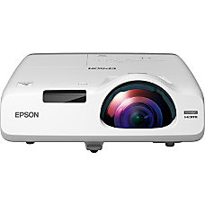 Epson PowerLite 525W LCD Projector 720p