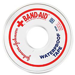 Band Aid Waterproof Tape 1Each White