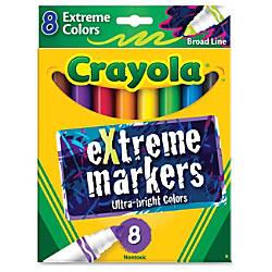 Crayola Ultra Bright eXtreme Markers Bold