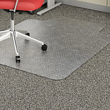 Lorell Economy Weight Chair Mat Carpeted