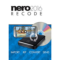 Nero Recode 2016 Download Version