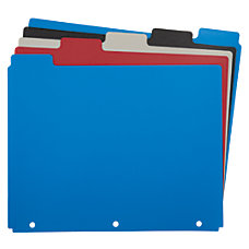 Wilson Jones 100percent Recycled Index Dividers