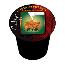 Cafejo Decaf Caramel Creme Single Serve