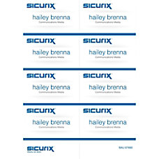 Baumgartens Sicurix Name Badge Kit Inserts