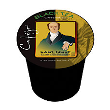 Cafejo Single Serve Tea Cups Earl