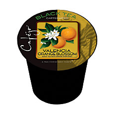 Cafejo Single Serve Tea Cups Valencia