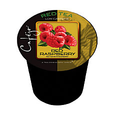 Cafejo Single Serve Tea Cups Red