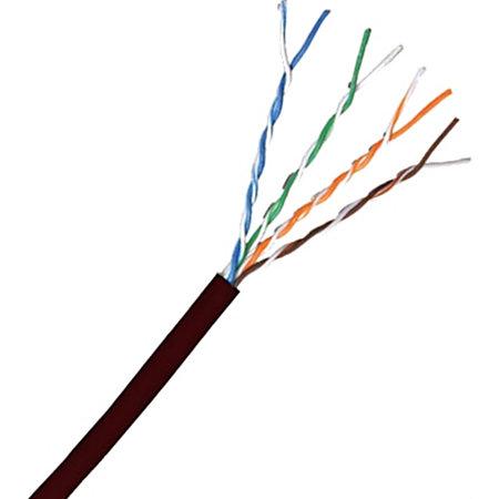 comprehensive cat 5e 350 mhz stranded black bulk cable