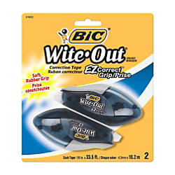 BIC Wite Out EZ Correct Grip