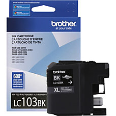 Brother Innobella LC103BK Ink Cartridge Black