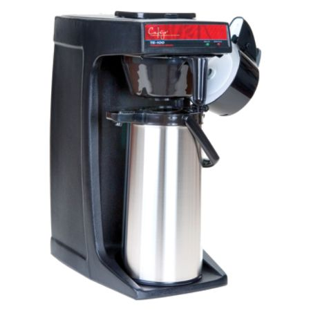 Cafejo TE 120 14 Cup Pour Over Coffee Brewer Black by Office Depot & OfficeMax