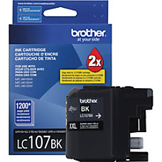 Brother Innobella LC107BK Ink Cartridge Black