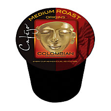 Cafejo Colombian Coffee Single Serve Cups
