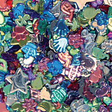 Creativity Street Fun Gemstones Buttons Assorted
