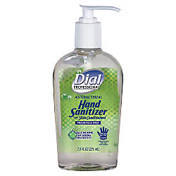 Dial Hand Sanitizer 75 Oz Clear