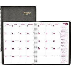 Brownline 14 Month Monthly Planner Julian