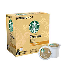 Starbucks Pods Veranda Blend Coffee K
