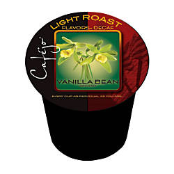 Cafejo Vanilla Bean Decaffeinated Single Serve