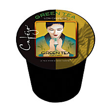 Cafejo Tea Single Serve Cups Green