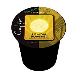 Cafejo Single Serve Tea Cups Lemon