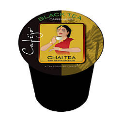 Cafejo Single Serve Tea Cups Chai