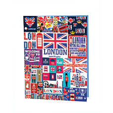 Kittrich Around The World Composition Book