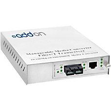 AddOn 100Base TX To 100Base LX