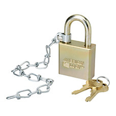 SKILCRAFT Solid Steel Case Padlock With