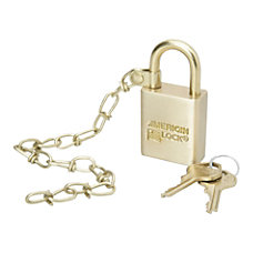 SKILCRAFT Solid Brass Case Padlock With