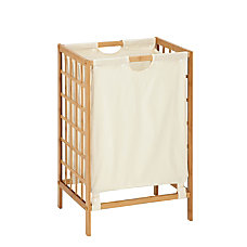 Honey Can Do Knockdown Bamboo Hamper