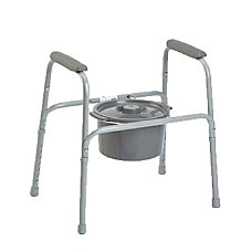 Invacare Safeguard Steel Commode