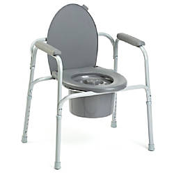 Invacare All In One Aluminum Commode