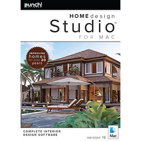 Punch home design studio for mac v19 download version by for Punch home landscape design for mac