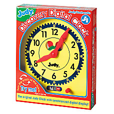 Judy Discovery Digital Clock