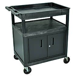 Luxor TC Series Utility Cart With