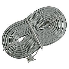 Ativa Phone Line Cord 50 Silver