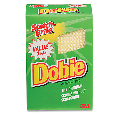 Scotch Brite Dobie All Purpose Cleaning Pad Yellow Pack Of