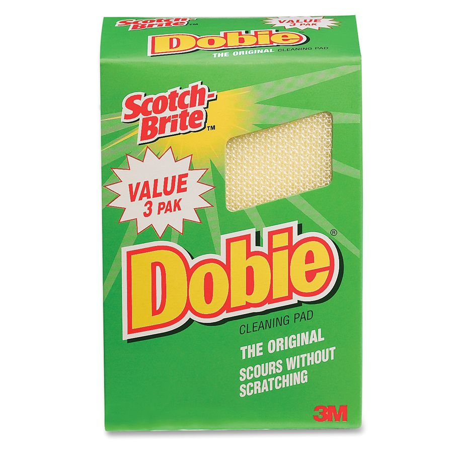 Scotch Brite Dobie All Purpose Cleaning Pad Yellow Pack Of ...