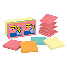 Post it Notes Electric Glow Collection