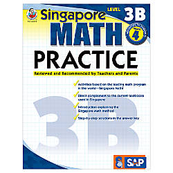 Carson Dellosa Singapore Math Practice Level