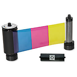 SICURIX 38001 Color Ribbon YMCKO 250