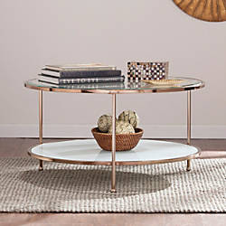 Southern Enterprises Risa Cocktail Table Round
