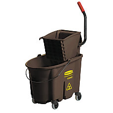 Rubbermaid WaveBrake Bucket And Wringer 35